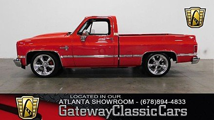 1987 Chevrolet C/K Truck 2WD Regular Cab 1500 for sale 100998740